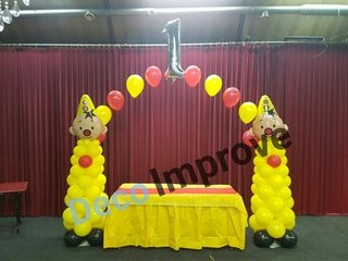 Helium Ballonnenbogen