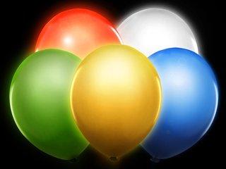 Ballonnen met LEDverlichting