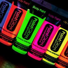 Neon UV Schmink