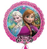 Frozen Sing-A-Tune 'Let it Go' XL Folie Ballon 81cm_