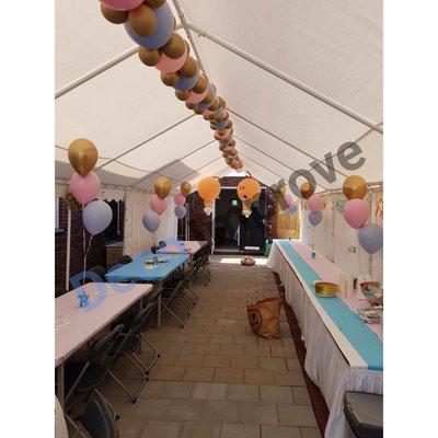 Flexibele SoftPastel Slingers Ballondecoratie Medium per meter