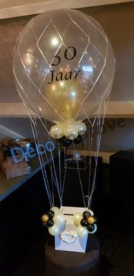 Chique Gouden met Persoonlijke Bedrukking Luchtballon