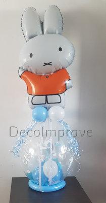 Blauw Nijntje Groot Cadeauballon Stuffer Ballon
