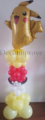 Pokemon Pikachu Deluxe Ballonnenpilaar