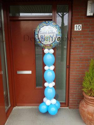 Baby Jongen Sing-A-Tune Helium Ballonnenpilaar
