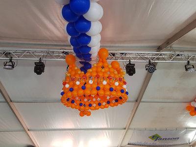 Kroon 3D Ballondecoratie