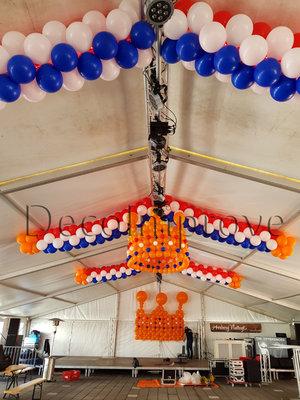 Slingers Large Ballondecoratie per Meter