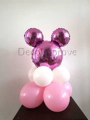 Minnie Mouse Roze Tafeldecoratie