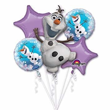 Frozen Olaf Folie Ballonnenboeket 5st