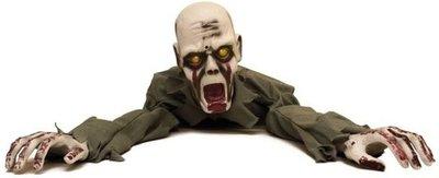Kruipende Zombie Animatron Bewegend Figuur Verhuur