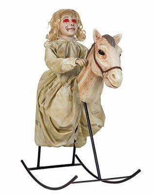 Pop op Schommelpaard Animatron Bewegend Figuur Verhuur