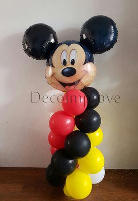 Mickey Mini Ballonnenpilaar