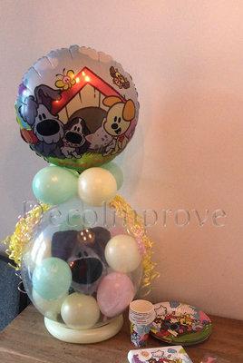 Woezel en Pip Pastel Cadeauballon Stuffer Ballon
