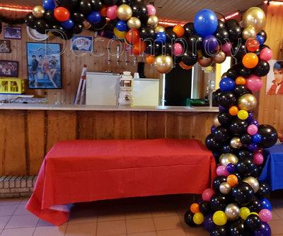 Organic Dia de la Muertos Driekwart Ballonnenboog