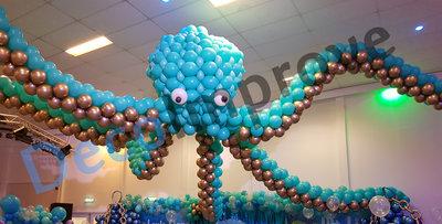 Octopus Ballondecoratie