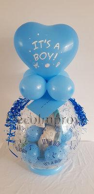 Kraamcadeau Jongen Cadeauballon Stuffer Ballon