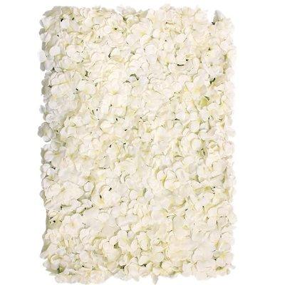 Creme Bloemen Flowerwall Bloemen Wand