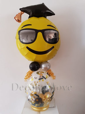 Smiley Emoticon Geslaagd Cadeauballon Stuffer Ballon