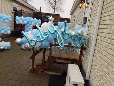 Baby Boy Organic Ballonslinger