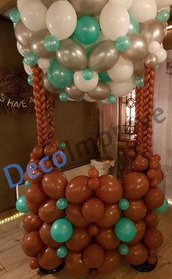 Luchtballon Foto Scene Ballondecoratie