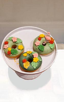 Donuts Tropisch