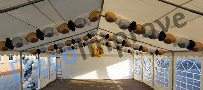 Flexibele Slingers Chroom Ballondecoratie Medium per meter