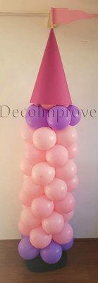 Ballonnenpilaar Standaard Kasteeltoren
