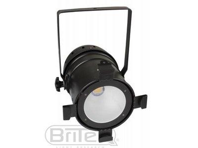 BRITEQ COB PAR56-100WW zwart 100Watt COB 3200K