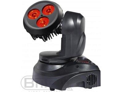 BRITEQ  BT-W30FC Mk2   drie CREE XML LEDs (10W RGBW) LED moving head