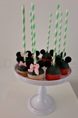 Cakepops Mickey en Minnie Mouse Basic