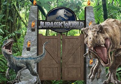 Jurassic World Backdrop 200x300cm Verhuur