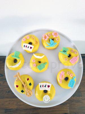 Donuts Lente in Wonderland