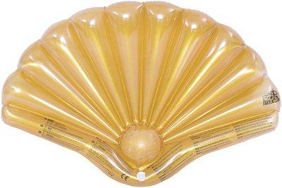 Goud Schelp Opblaasbaar 90cm