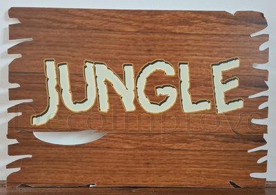 Foamboard Hout 'Jungle' Verhuur