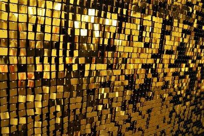 Goud Lovertjes Sequin Wall Backdrop 180x180cm