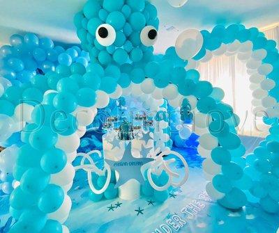Octopus Ballonnenboog Setting Decoratie