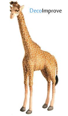 Giraffe met Draaiend Hoofd Animatie Figuur 2m Verhuur