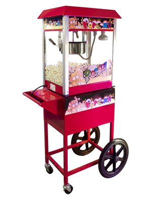 Popcorn Machine op Kar