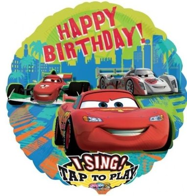 Cars Sing-A-Tune XL Folie Ballon 71cm
