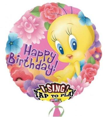 Tweety Sing-A-Tune XL Folie Ballon 71cm