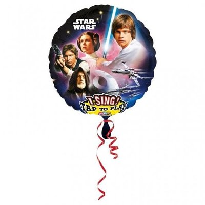Star Wars Sing-A-Tune XL Folie Ballon 71cm
