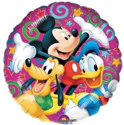Ballonnenpost Mickey Mouse Viert Feest Folie Ballon 45cm