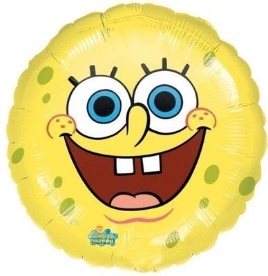 Ballonnenpost Spongebob Squarepants Folie Ballon 45cm