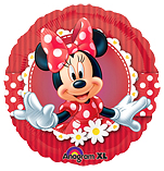 Ballonnenpost Minnie Mouse Cafe Folie Ballon 45cm