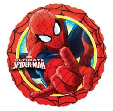 Ballonnenpost Ultimate Spiderman Aktie Folie Ballon 45cm
