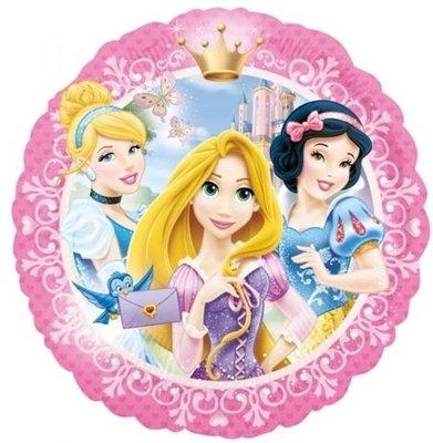 Ballonnenpost Disney Prinsessen Portret Folie Ballon 45cm