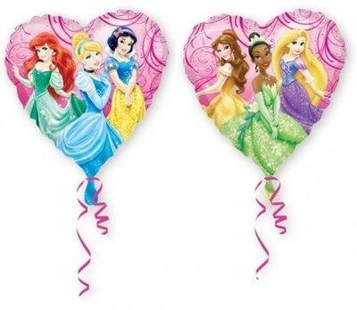 Ballonnenpost Disney Prinsessen Sprankelend Hart Folie Ballon 45cm