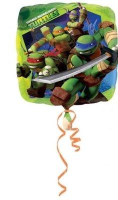 Ballonnenpost TM Ninja Turtles Vierkante Folie Ballon