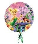 Ballonnenpost Elfjes Tinkerbell 'Sweet Birthday Wishes' Folie Ballon 45cm