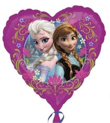 Ballonnenpost Frozen Folie Hart Ballon 23cm